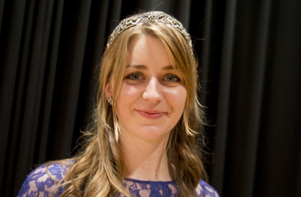 Stefanie Schwarz ist die 51. Württemberger Weinkönigin. Foto: dpa