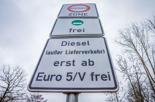 Elf Verfahren gegen Diesel-Fahrverbot