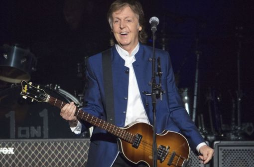 Paul McCartney gibt Exklusiv-Konzert
