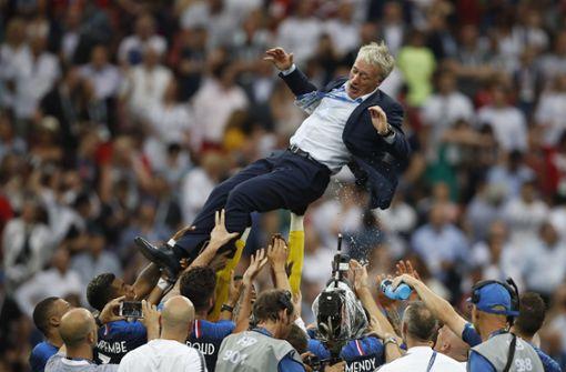 """""""Blauer Himmel für Frankreich – elf Spieler vereinen ein Land"""""""