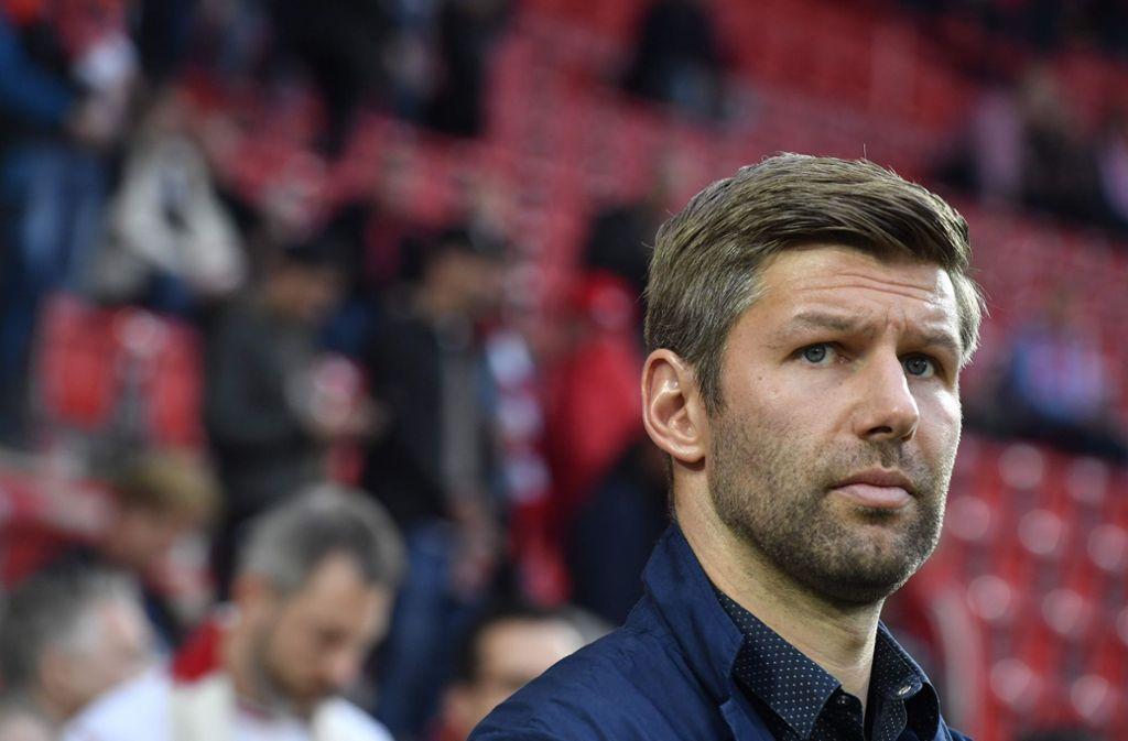 Thomas Hitzlsperger erhofft sich auch in der zweiten Liga eine breite Unterstützung seitens der VfB-Fans. Foto: AFP