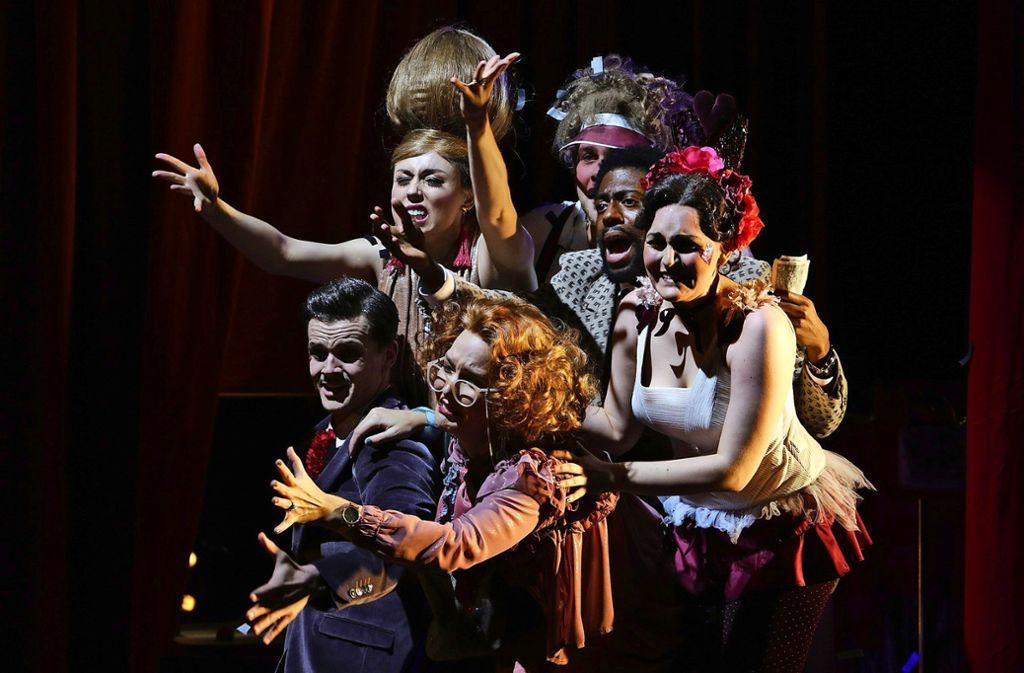 """Mozarts Singspiel """"Der Schauspieldirektor"""" wird unter Elena Zzavaras Regie an der Jungen Oper im Nord (Join) gespielt. Foto: Christoph Kalscheuer"""