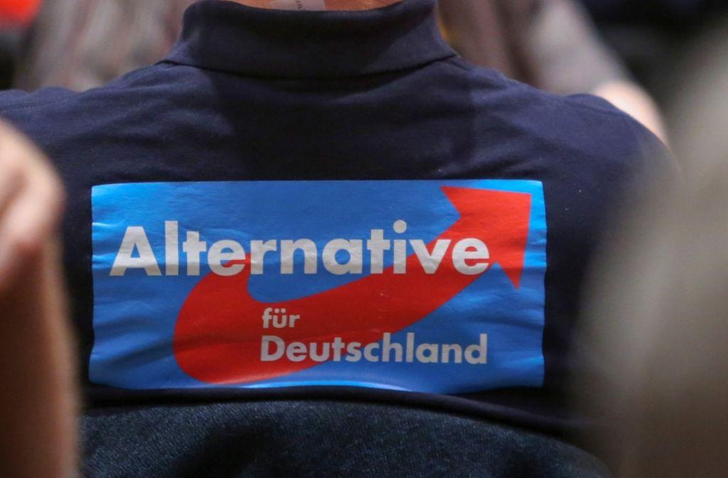 Die Staatsanwaltschaft ermittelt gegen einen Spitzenkandidaten der AfD. Foto: dpa