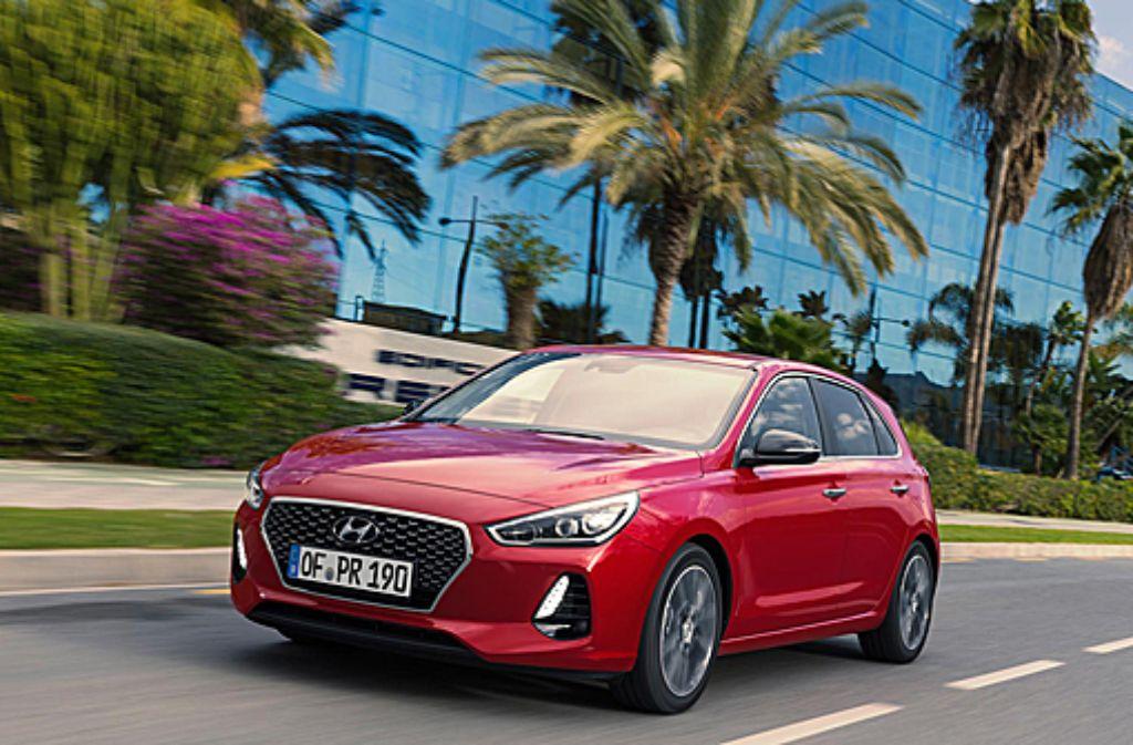Der neue i30 von Hyundai wird in Tschechien gebaut. Foto: Hersteller
