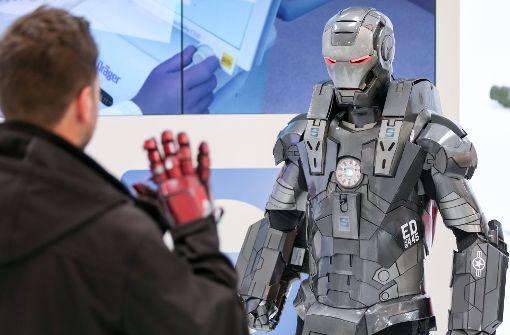 Unterstützung für Roboter im Rathaus