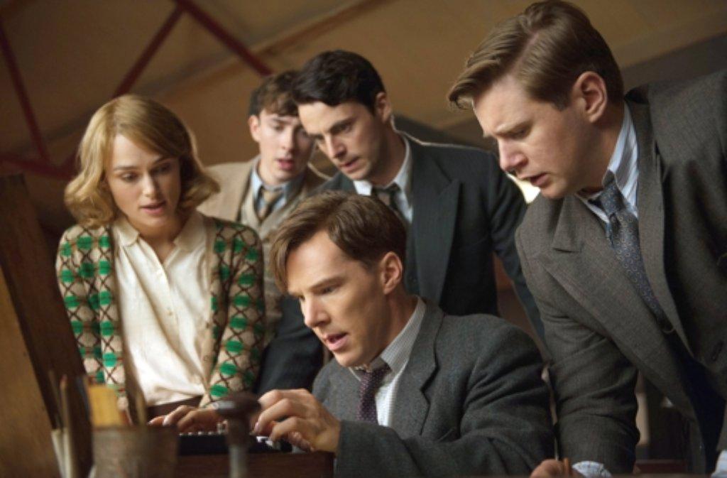Bester Film The Imitation GameRegie: Morten TyldumDarsteller: Benedict Cumberbatch, Keira Knightley Foto: Jack English/SquareOne Entertain