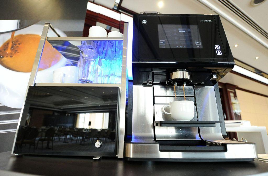 WMF ist Weltmarktführer im Geschäft mit professionellen Kaffeemaschinen. Foto: dpa