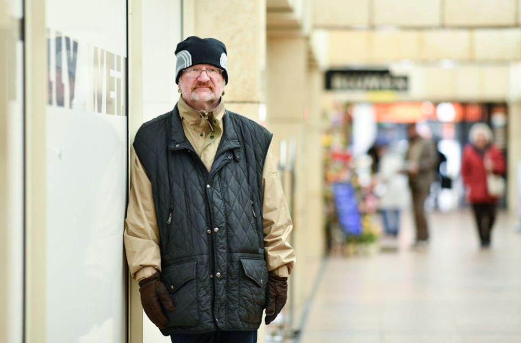 30 Jahre lang hatte Richard Brox keinen festen Wohnsitz. Foto: dpa