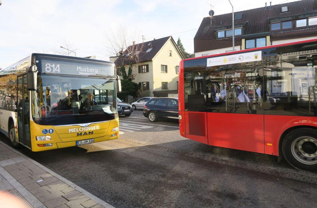 Damit die Busse weniger im Stau stehen, sind Abfahrtszeiten verändert worden. Foto: Archiv Malte Klein