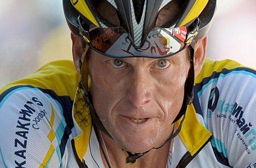 Lance Armstrong wird wegen Betrugs verklagt. Foto: EPA