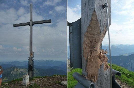 Neues Kreuz sorgt für Verwirrung