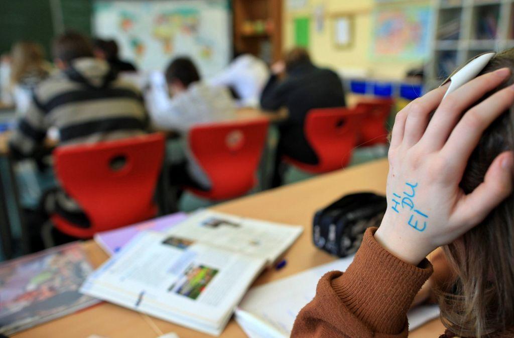 Benachteiligte Schüler holen in Deutschland leicht auf. Foto: dpa