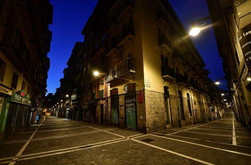 Spanien befindet sich im Zwangsurlaub