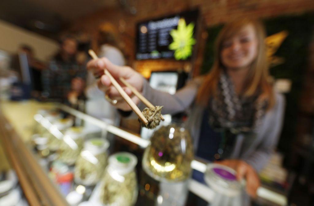 In ingesamt neun Bundesstaaten ist der Konsum und Erwerb von Marihuana legal. Foto: AP