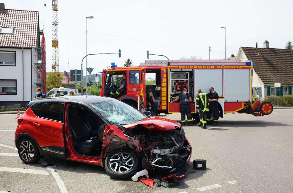 Ein 31-Jähriger missachtete vor dem Unfall offenbar das Rotlicht. Foto: SDMG/Woelfl