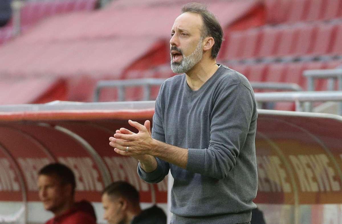 Pellegrino Matarazzo ist seit dem 30. Dezember 2019 Trainer des VfB Stuttgart – mit seiner Dienstzeit liegt der Italo-Amerikaner im Bundesliga-Mittelfeld der Dauerbrenner auf der Trainerbank. Foto: Baumann
