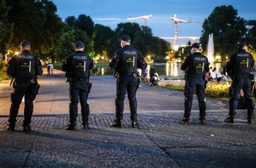 Die Polizei ist erneut mit einem großen Aufgebot im Einsatz