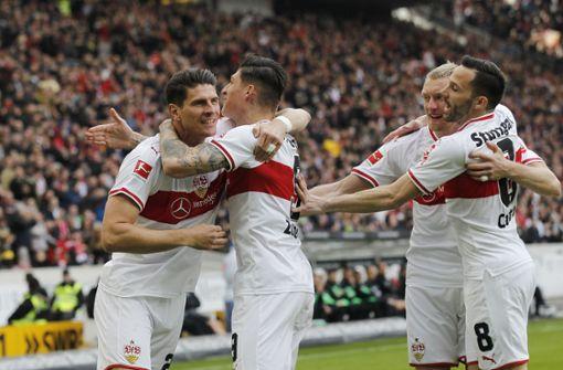 Der VfB Stuttgart deklassiert Hannover 96 im Kellerduell