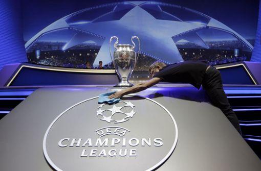 Champions-League-Pläne sorgen für geschlossene Gesellschaft