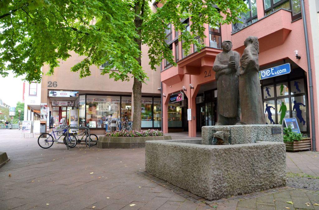 Mehr Publikumsverkehr am Vaihinger Markt ist eines der Ziele des Sanierungsgebiets. Foto: Sandra Hintermayr