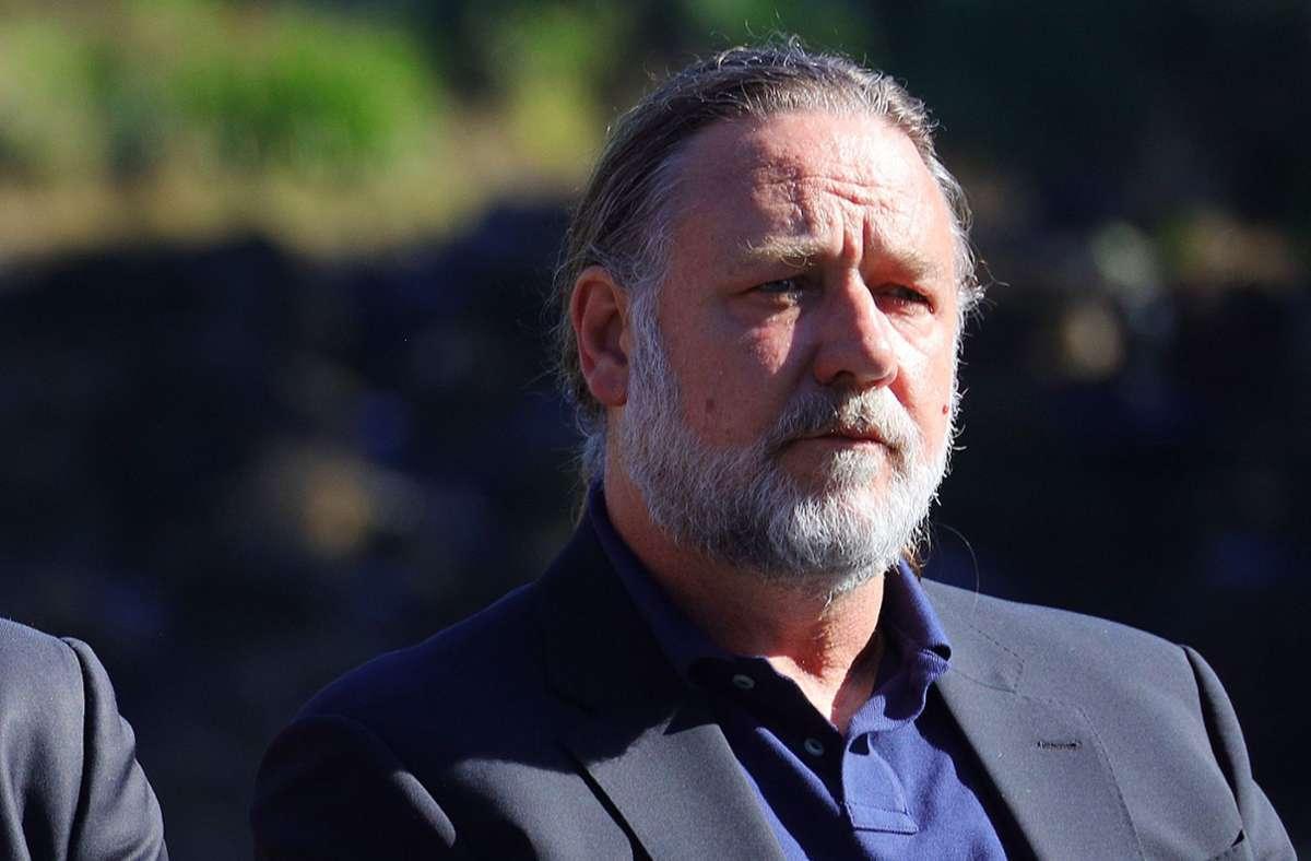 Auch der Schauspieler Russel Crowe will in seiner Heimat Australien in Coffs Harbour ein großes Filmstudio einrichten. Foto: dpa/Frank Redward