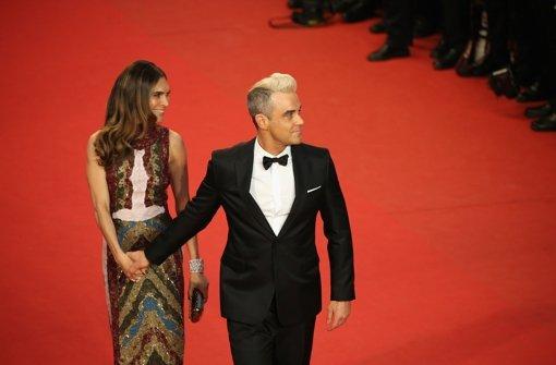 Robbie Williams und Ayda Field kuscheln offensiv