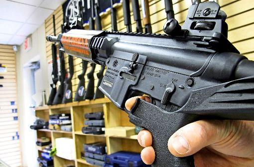 Eine Schamfrist für die Waffenlobby