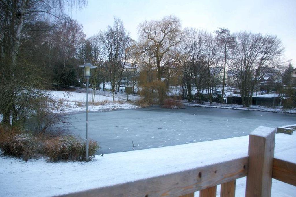 Der Rohrer Feuersee im Winter (Archivbild). Foto: Archiv