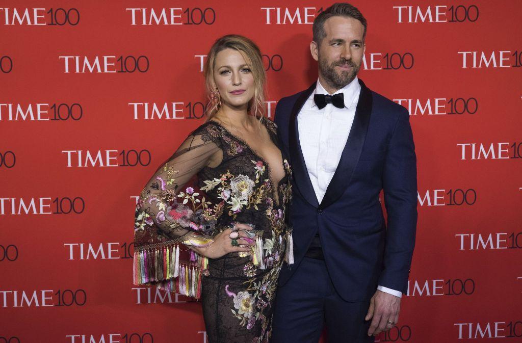 US-Schauspielerin Blake Lively und ihr Ehemann Ryan Reynolds. Foto: Invision