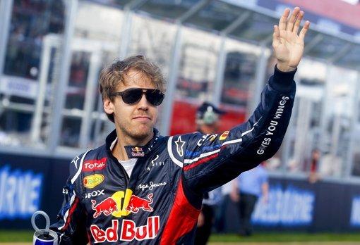 Vettel feiert zweiten Platz wie einen Sieg