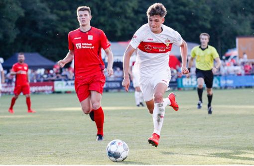 VfB II verliert Punkte und Luca Mack