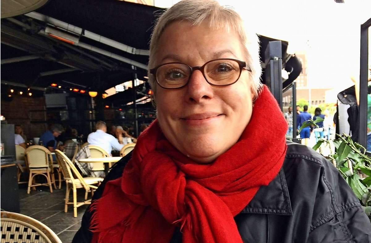 Dorothee Blank-Milch  in Oslo Foto: Milch (z)
