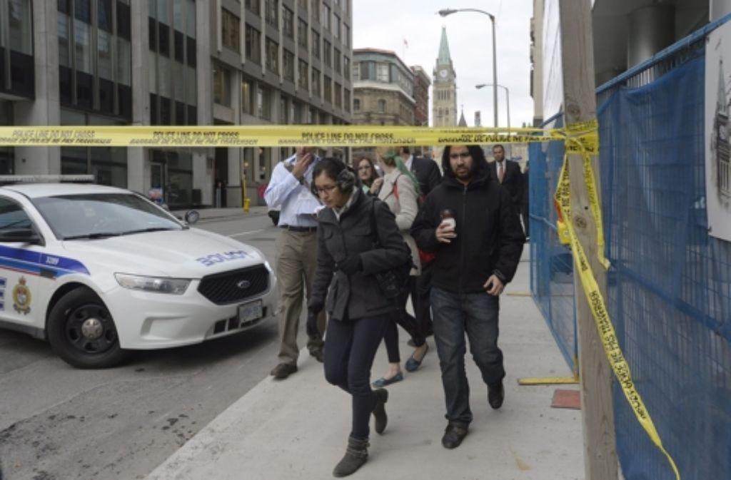 Der Terroranschlag in Kanada geht wohl auf einen geistig verwirrten Täter zurück.  Foto: The Canadian Press
