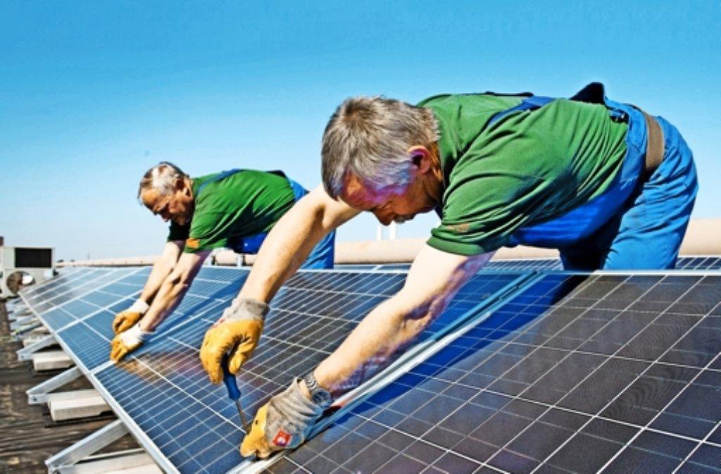 Der Energiekreis möchte eine siebte Bürger-Fotovoltaikanlage errichten. Foto: dpa
