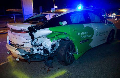 100 000 Euro Schaden nach Auffahrunfall mit Taxi