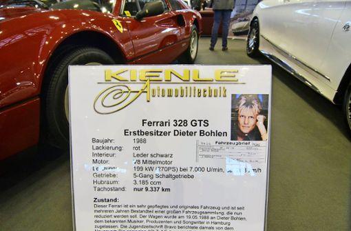 Der alte Ferrari des Pop-Titans