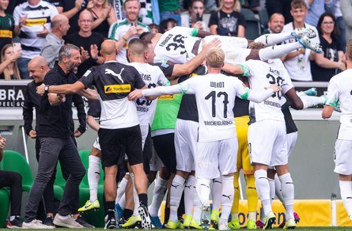 Gladbach kämpft sich zu 2:1-Sieg gegen Düsseldorf