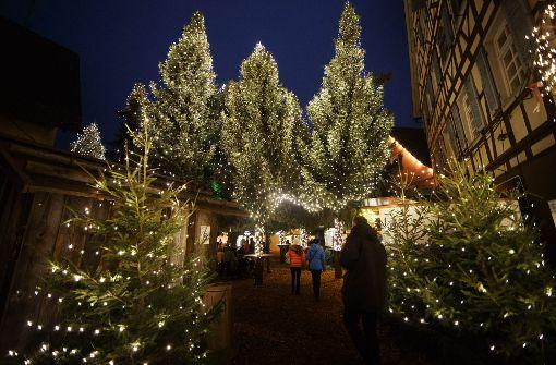 Diese Weihnachtsmärkte locken im Rems-Murr-Kreis