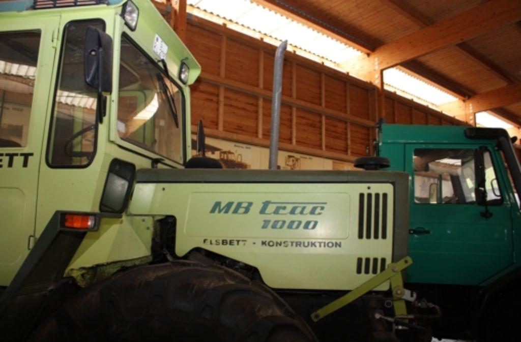 Das Landwirtschaftsmuseum präsentiert wieder Oldie-Schlepper. Foto: Rebecca Stahlberg
