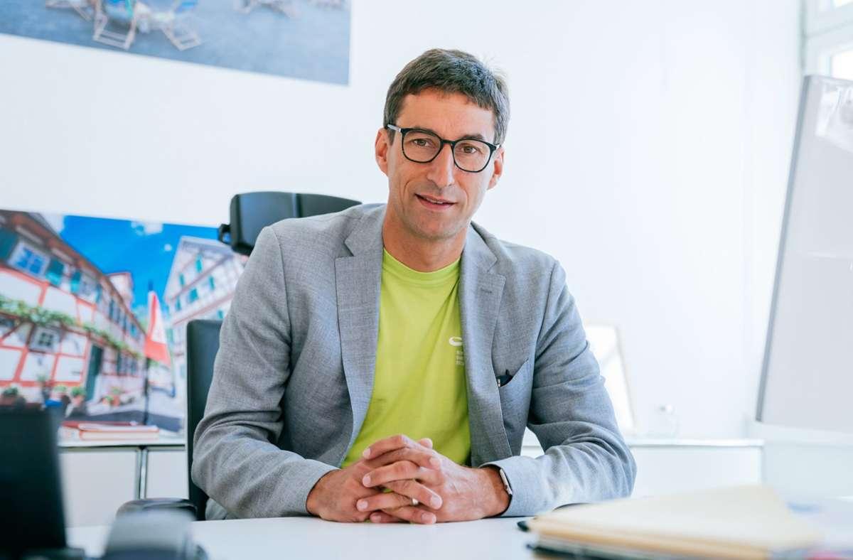 Matthias Klopfer kam im zweiten Wahlgang auf 49,5 Prozent der Stimmen. (Archivbild) Foto: dpa/Thomas Niedermüller