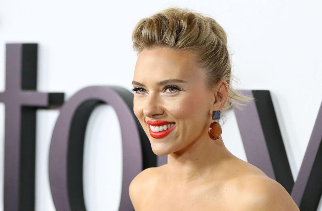 Scarlett Johansson spielt eine Hauptrolle in dem neuen Netflix-Film. Foto: AFP/JEAN-BAPTISTE LACROIX