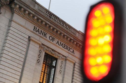 Bank of America muss Rekordbuße von 16,65 Milliarden Dollar zahlen