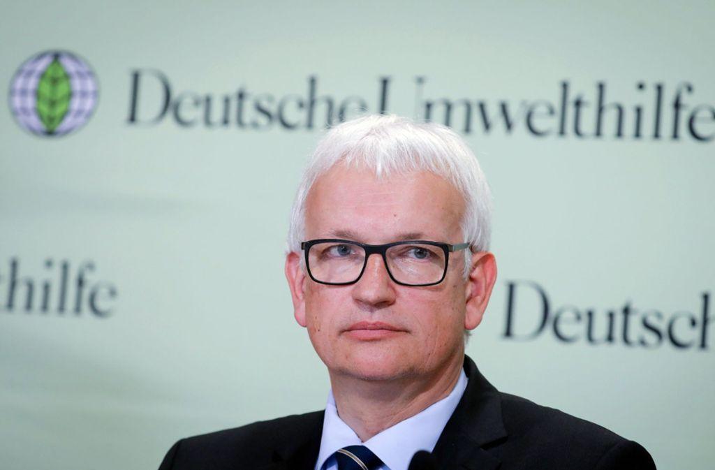 Jürgen Resch, Geschäftsführer der Deutschen Umwelthilfe, gerät mit seiner Organisation zunehmend in Kritik. Foto: dpa