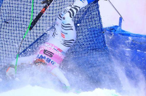 Skifahrer Thomas Dreßen bleibt kämpferisch