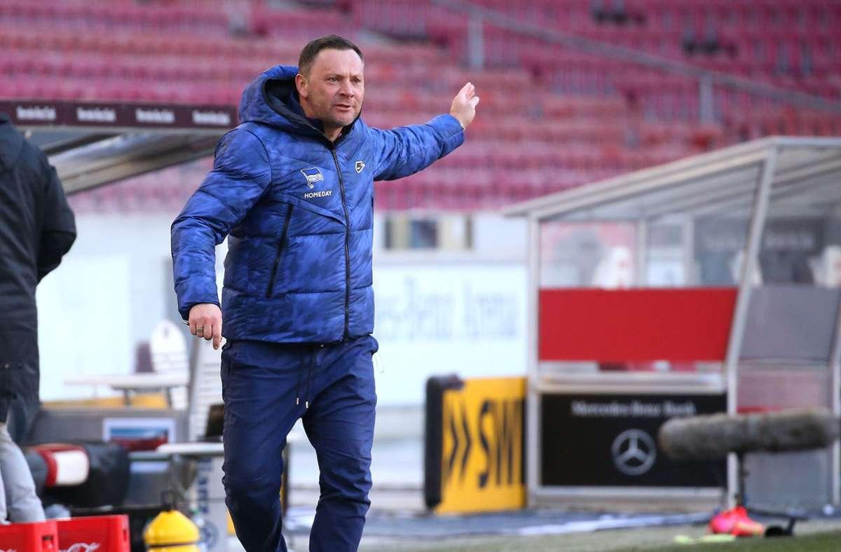Hertha BSC Trainer Pal Dardai. (Archivbild) Foto: Pressefoto Baumann/Alexander Keppler