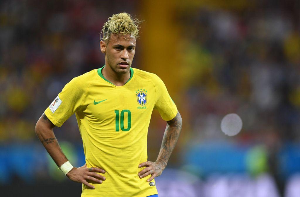 Neymar kam mit Brasilien bei der WM 2018 nicht über ein 1:1 gegen die Schweiz hinaus. Foto: dpa