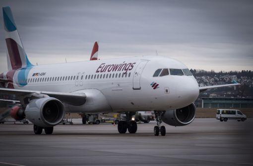 Zwei Eurowings-Maschinen kehren um
