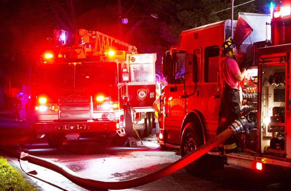 Bei mehreren Gasexplosionen sind 39 Häuser in Flammen aufgegangen. Foto: Getty