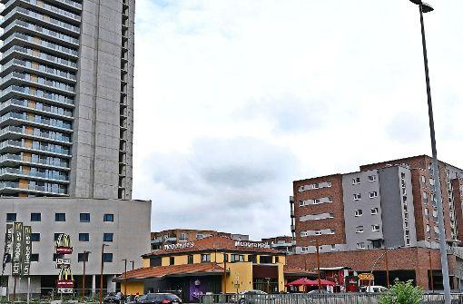Das Schnellrestaurant in der Bühlstraße ist in der Nacht auf Freitag überfallen worden. Foto: Patricia Sigerist