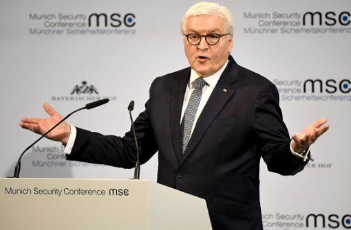 Steinmeier ruft Deutsche zu mehr Mut auf